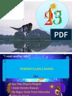 PEMANTULAN CAHAYA