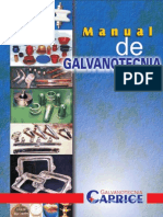 Manual de Galvanotecnia