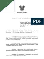 DECRETO N 23 174 SITUAÇÃO DE EMERGENCIA MUNICIPIO EQUADOR