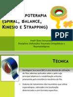 Aula prática Esparadrapoterapia