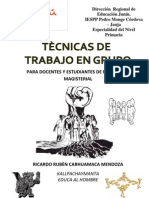 TALLER DE TRABAJO EN GRUPO