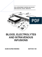 MD0564 Blood Electrolytes and Intravenous Infusions Ed 100
