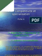 td 5 – compétitivité et spécialisation