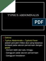 Typhus Abdominalis,