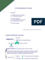 Documentacion y Requisitos Modelo Standarizados de Calidad EFQM-IsO-RUA