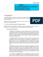 TEMA 7. Las aguas y la red hidrográfica en España