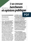2010 LE MONDE Climatosepticisme - analyse Stéphane FOUCARD