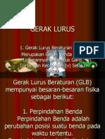 9. GERAK LURUS