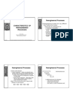 Reengineered Processes