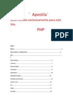apostila curso php