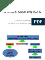 Komplikasi Kala III Dan IV -PRINT
