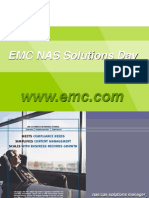 EMC NAS Solutions Day