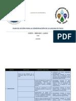 Plan de Accion - Laguna de Paca
