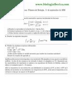 Examen Matemáticas 2008
