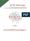 Banking Terminology - Guide4BankExams