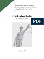 Engleza Juridica