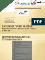 Organismos Reguladores de Telecomunicaciones del Ecuador