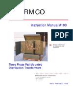 3 Phase Instruction Manual