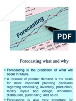 Forecasting in industrial engineering