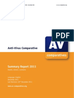 Av Comparatives (Summer 2011)!