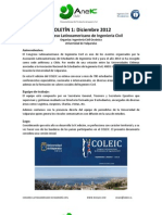 BOLETIN 1 - COLEIC 2013