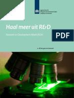 Haal meer uit R&D