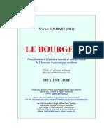 Sombart, Werner - Le Bourgeois II [1913]