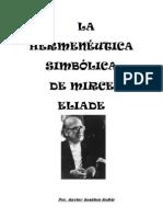 La hermenéutica simbólica de Mircea Eliade