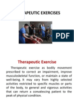 Therapeutic Exercises