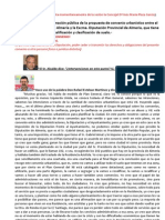 INTERVENCIÓN DE LOS CONCEJALES EN EL PLENO DE APROBACIÓN CONVENIO AYUNTAMIENTO ALMERÍA DIPUTACIÓN