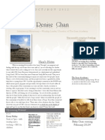October/ November 2012 Newsletter