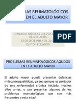 PROBLEMAS REUMATOLÓGICOS AGUDOS EN EL ADULTO MAYOR