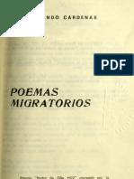 Poemas migratorios - Rolando Cárdenas