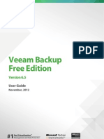 Veeam Backup Free 6