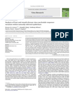 Analysis of Foot-and-mouth disease virus nucleotide sequence