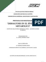 Dermatosis en el Síndrome Metabólico