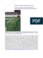 Chapple, R. M. 2012 'Archaeology Ireland 26.1 (Issue 99) Spring 2012. Review' Blogspot Post