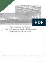Galvanizacion contra la corrosión