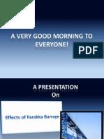 Bio 103_Effects of Farakka Barrage_Group 12