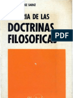 Historia de las doctrinas filosoficas