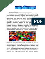 Aditivii alimentari-Referat chimie