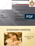 EXPOSICIÓN SINDROME DE DOWN.