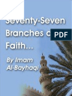 The Seventy-Seven Branches of Faith - Imam Al-Bayhaqi