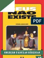 COLEÇÃO FÁBULAS BÍBLICAS VOLUME 19 - DEUS NÃO EXISTE