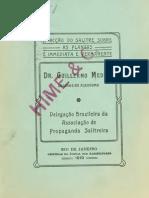 A accáo do salitre sobre as plantas e immediata e permanente. Delegacáo brazileira de Associacáo de Propaganda Salitreira. 1910