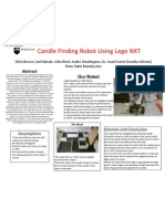 Candle Finding Robot Poster