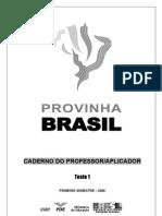 Provas Brasil e Spaece