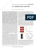 All-solid-state dye-sentized solar cells with high efficiency