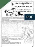 CUENTO DE ANDERSEN PARA 2º CICLO; EL RUISEÑOR Y EL EMPERADOR