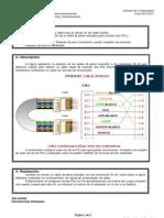 Práctica nº 3 Instalaciones de Telecomunicaciones PCPI - Conexión de dos Ordenadores mediante cable de RJ-45 trenzado.